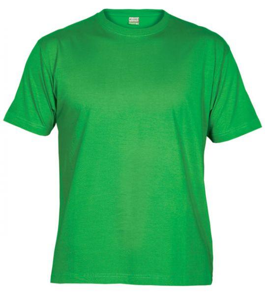 Pánské tričko bez potisku zelené