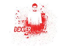 Dámské tričko s potiskem - Dexter morgan white