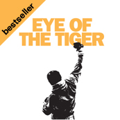 Dámské tričko s potiskem - Eye of tiger white