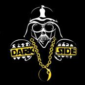 Pánské tričko s potiskem - Vader darkside black