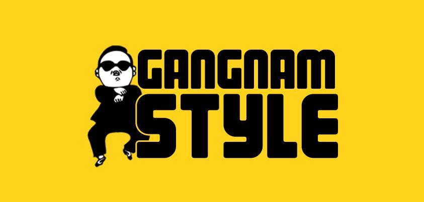 Pánské tričko s potiskem - Gangnam style