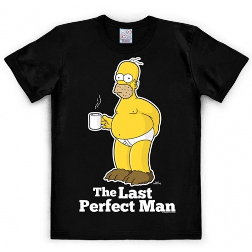 Pánské tričko The Simpsons Last perfect man + tričko zdarma
