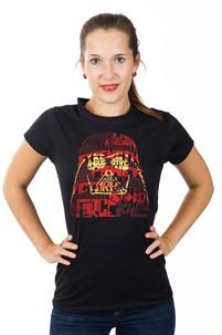 Dámské tričko s potiskem - Sith code - Vader