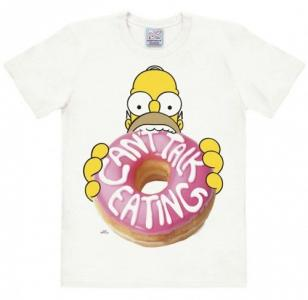 Pánské tričko The Simpsons Homer Can't talk eating