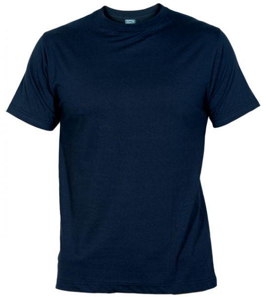 Pánské tričko bez potisku tm. modré