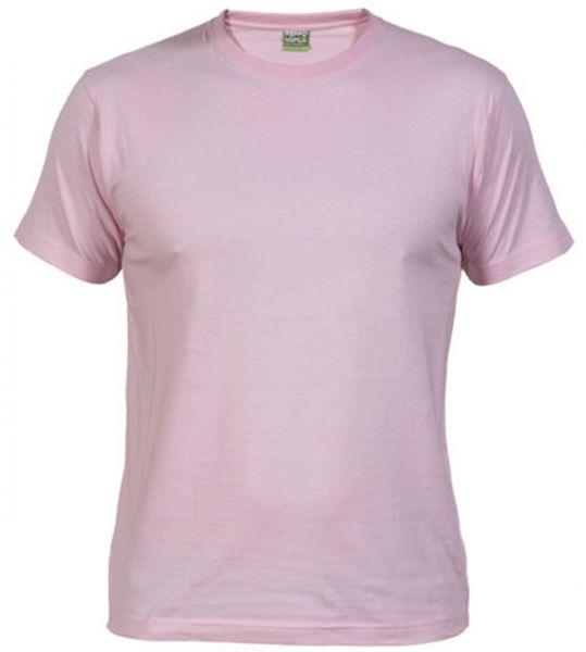 Pánské tričko bez potisku růžové