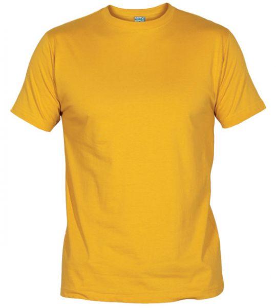 Pánské tričko bez potisku sv.oranžové