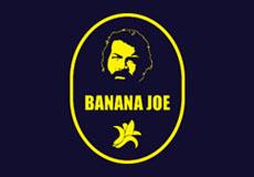 Pánské tričko s potiskem - Banana joe purple