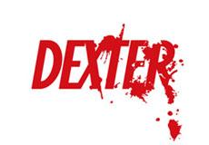 Pánské tričko s potiskem - Dexter white