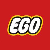 Pánské tričko s potiskem - Ego red