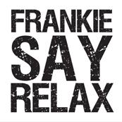 Pánské tričko s potiskem - Frankie say relax white