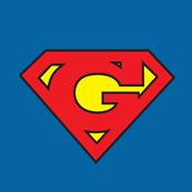 Pánské tričko s potiskem - Geek blue