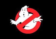 Dámské tričko s potiskem - Ghostbusters black