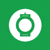 Dámské tričko s potiskem - Green chinese lantern green