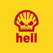 Pánské tričko s potiskem - Hell yellow