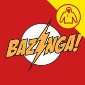Dámské tričko s potiskem - hoody Baznga! red