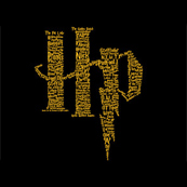 Dámské tričko s potiskem - Hp black