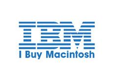 Pánské tričko s potiskem - IBM white