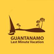 Pánské tričko s potiskem - Last minute Guantanamo beach yellow