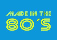 Dámské tričko- Made in the 80's blue