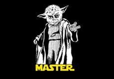 Dámské tričko s potiskem - Master black