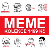 Pánské tričko s potiskem - Meme kolekce white