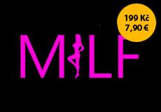 Dámské tričko s potiskem - Milf black