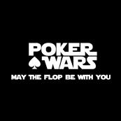 Pánské tričko s potiskem - Poker wars black