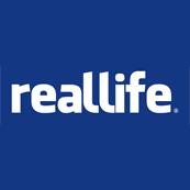 Pánské tričko s potiskem - Reallife blue