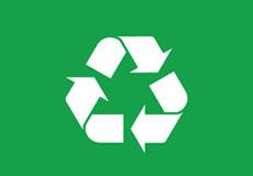 Pánské tričko- Recycle green
