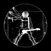Pánské tričko s potiskem - Hoody Rock da Vinci black