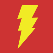 Dámské tričko s potiskem - Shazam red