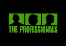 Pánské tričko s potiskem - The professionals black