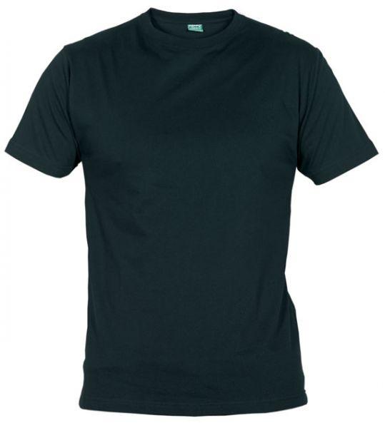 Pánské tričko bez potisku černé