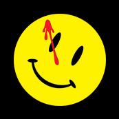 Pánské tričko s potiskem - Watchmen smile black