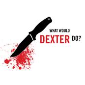 Pánské tričko s potiskem - What would dexter do white