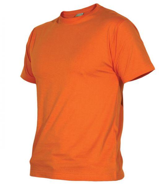 Pánské tričko bez potisku oranžové