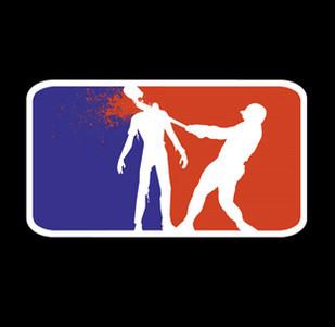 Dámské tričko s potiskem National zombie league hoody