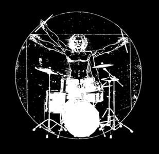 Dámské tričko s potiskem - Vitruvian