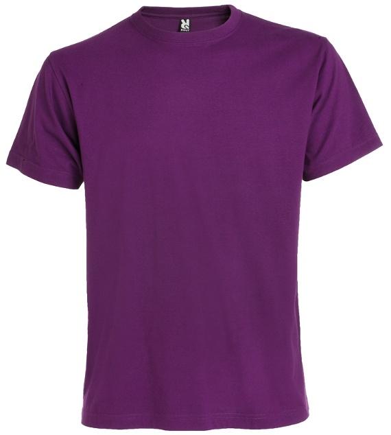 Pánské tričko bez potisku Fialová