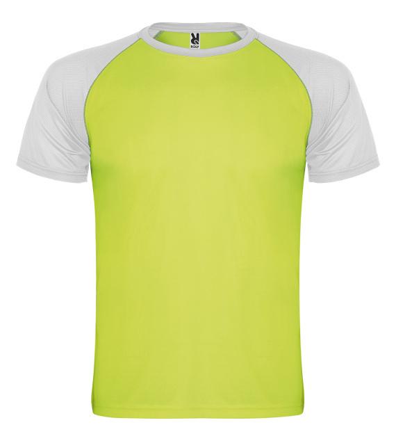 Pánské tričko bez potisku Zelenobílé