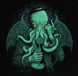 Dámské tričko s potiskem - Call of Cthulhu