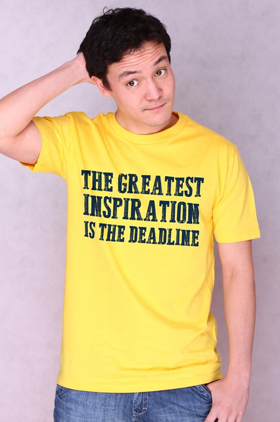Pánské tričko s potiskem - Deadline