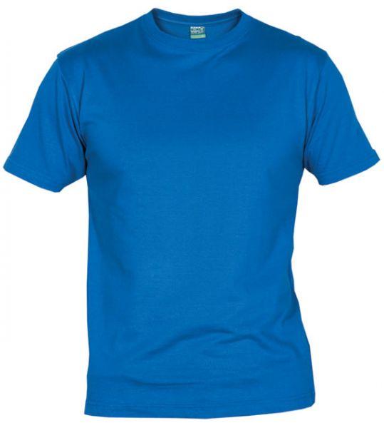 Pánské tričko bez potisku sv. modré 5+1 zdarma