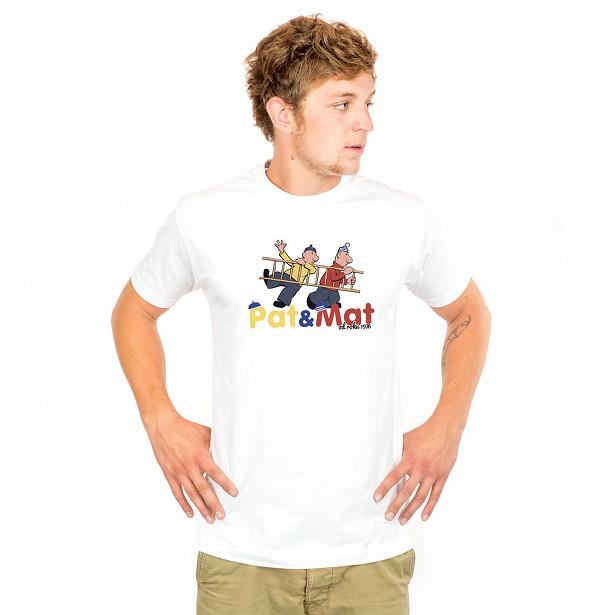 Pánské tričko s potiskem Pat a Mat