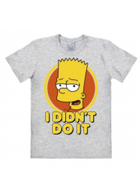 Pánské tričko The Simpsons Bart I didnt do it